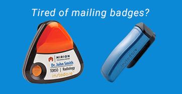 Dosimeter Badges Radiation Badges X Ray Badges From Chp Dosimetry